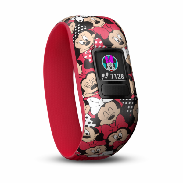 Garmin vivofit jr. 2 Minnie mys cervena
