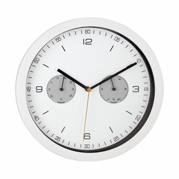 Mebus 52826 white Radio controlled Wall Clock