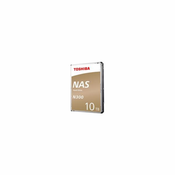 Toshiba N300 HDD 3.5'', 10TB, SATA/600, 7200RPM, 128MB cache, BOX