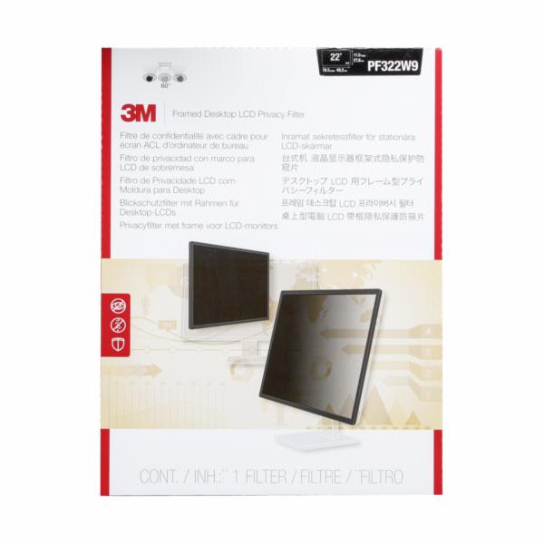 3M PF322W9 bezpecnostni folie pro 54,6-55,9cm (21,5 -22 ) 16:9
