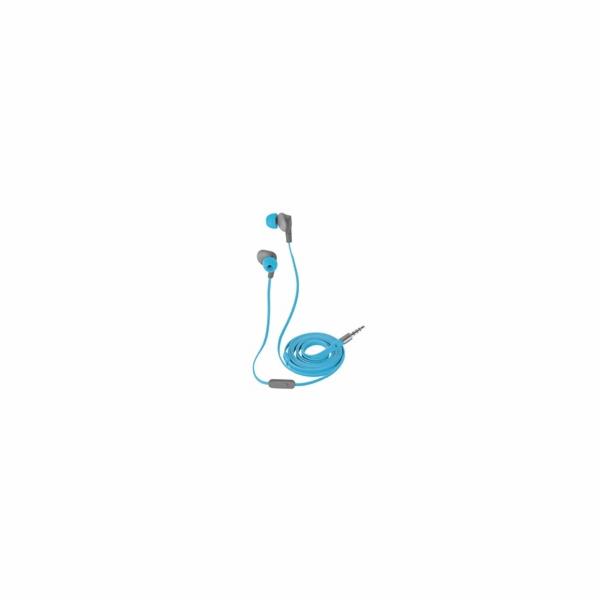 TRUST sluchátka Aurus Waterproof In-ear Headphones - blue