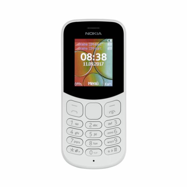 Nokia 130 Dual SIM 2017 grey