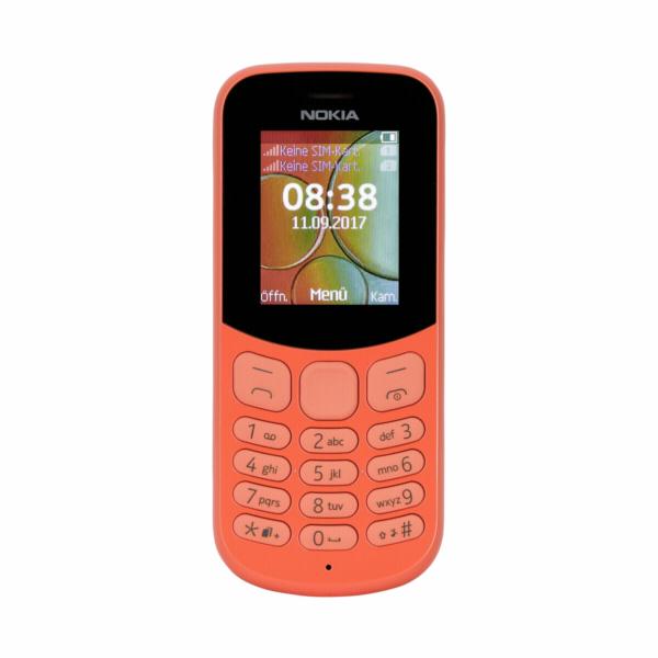 Nokia 130 Dual SIM 2017 red