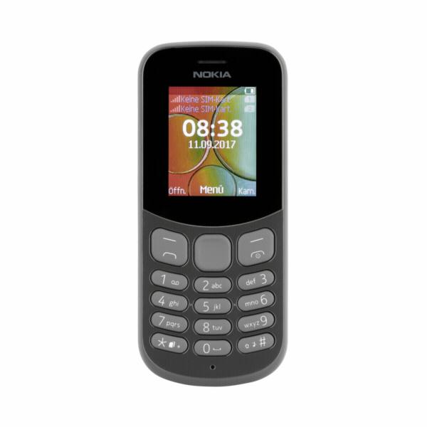 Nokia 130 Dual SIM 2017 black