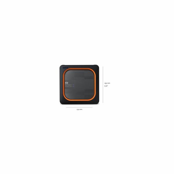 WD My Passport Wireless SSD 500GB Ext. USB3.0, SD Card,