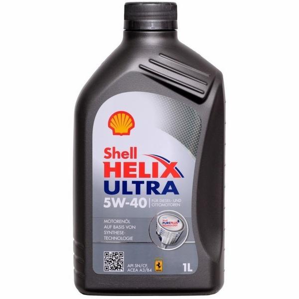 Motorový olej Ultra 5W-40 1L SHELL