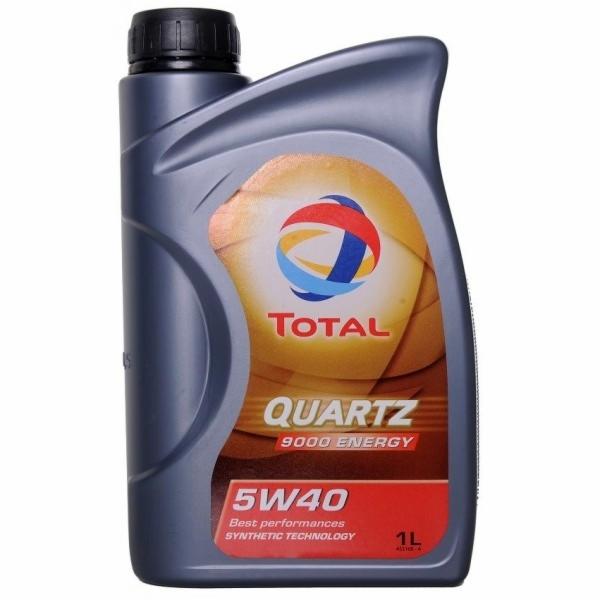 Motorový olej QUARTZ 9000 5W-40 1L Energy TOTAL