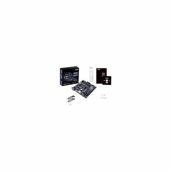 ASUS MB Sc AM4 PRIME A320M-A, AMD A320, 4xDDR4, VGA, mATX