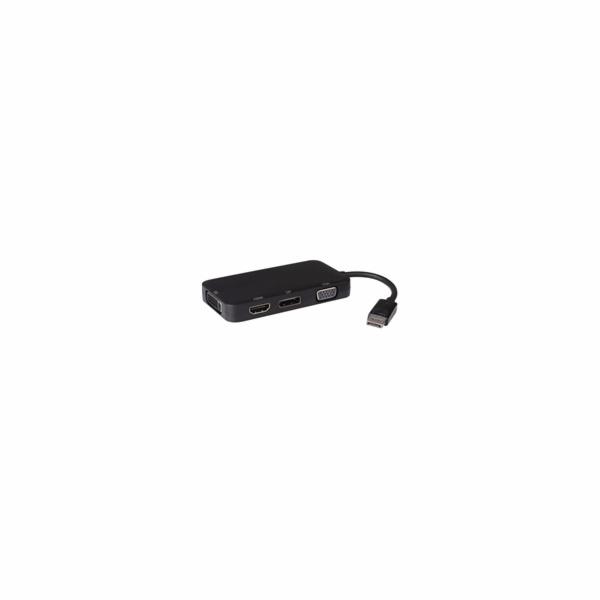 PREMIUMCORD adaptér DisplayPort - DP + HDMI + DVI + VGA , 1080p, 4K*2K