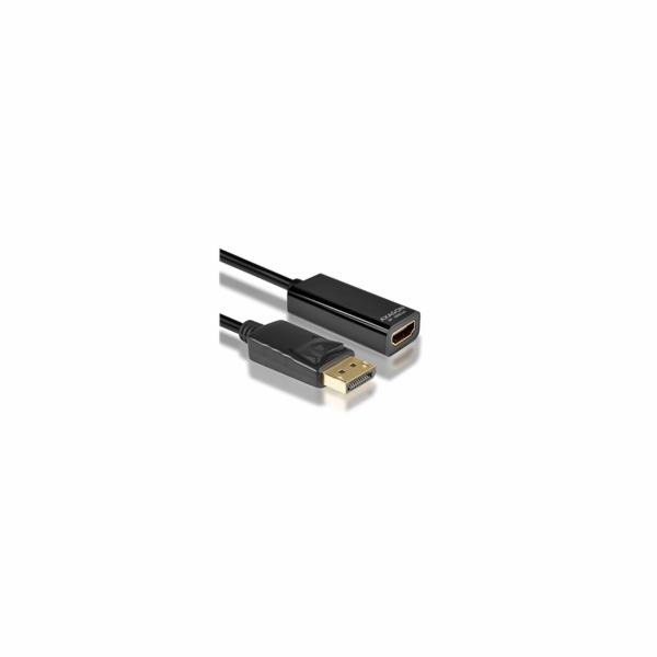 AXAGON RVD-HI2, DisplayPort -> HDMI AKTIVNÍ 2.0 redukce / adaptér FullHD, 4Kx2K/60Hz