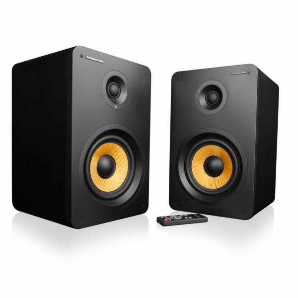 Modecom reproduktory ECLIPSE 180, 2.0, 2x90W RMS, Bluetooth 4.0, dálkové ovládání, černé