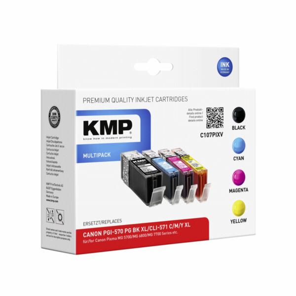 KMP C107PIXV Multipack komp. s Canon PGI-570/CLI-571 XL C/M/Y