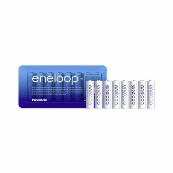 1x8 Panasonic Eneloop Mignon AA 1900 mAh Storage Case