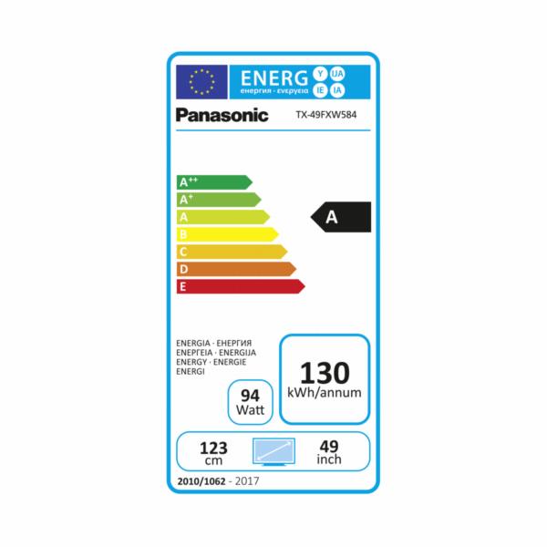 Panasonic TX-49FXW584 Glossy Black