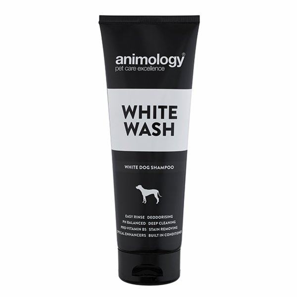 ANIMOLOGY Šampon na bílou srst White Wash, 250ml