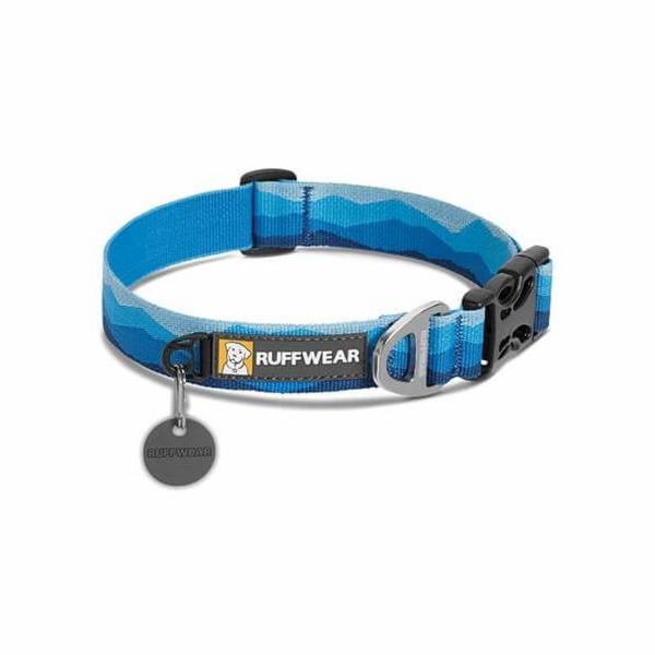 Ruffwear obojek pro psy, Hoopie Dog Collar, modrý, velikost M
