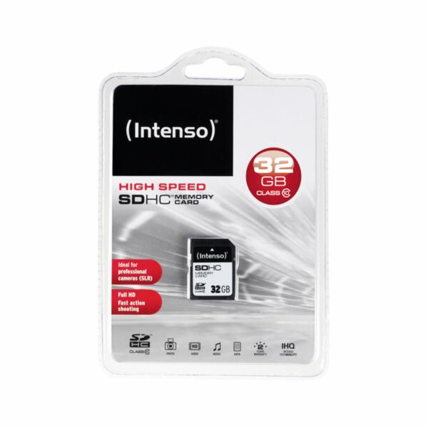 Intenso SDHC Card 32GB Class 10