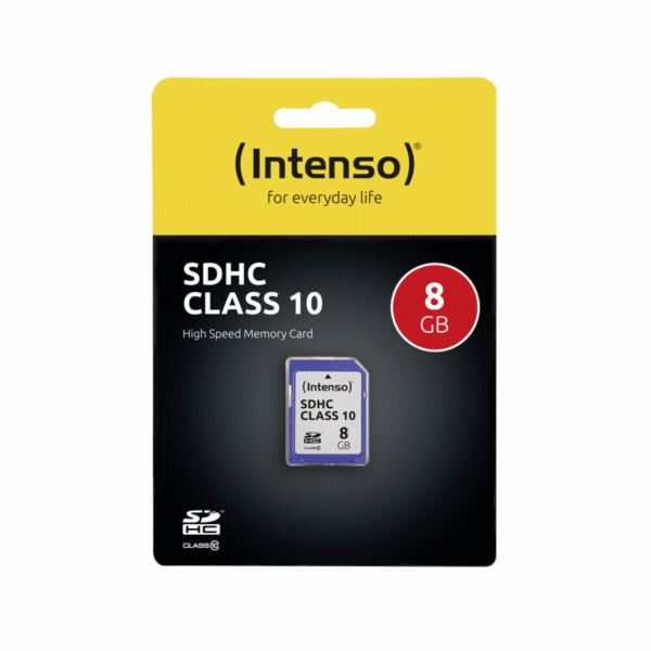 Intenso SDHC Card 8GB Class 10