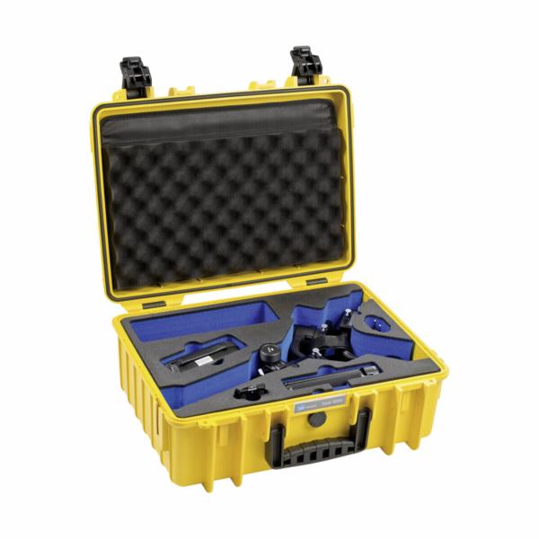 B&W Outdoor obal typ 5000/Y zluta s DJI Ronin S Inlay