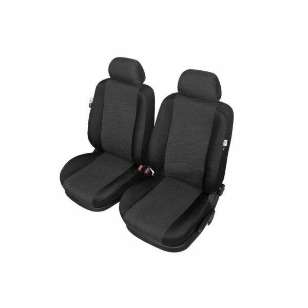 Autopotahy ARES na přední sedadla, černé SIXTOL