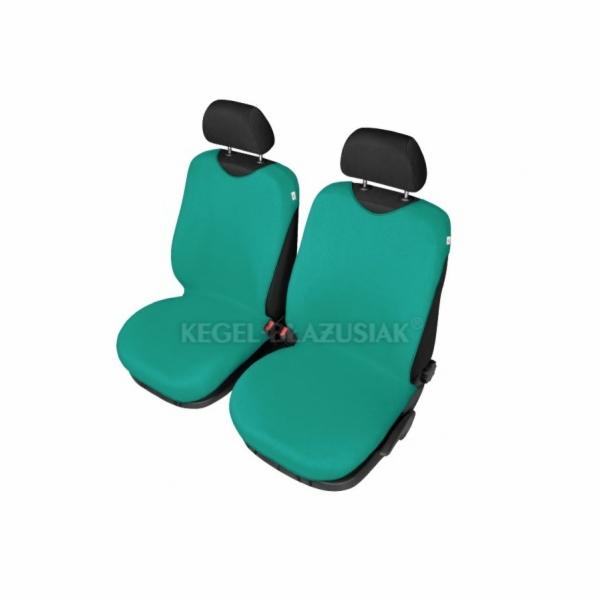 Autopotahy Tričko BAVLA na přední sedadla - zelená SIXTOL