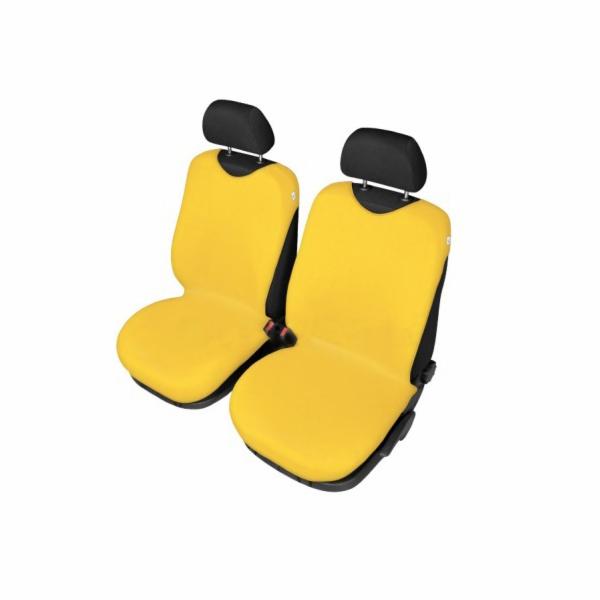 Autopotahy Tričko BAVLA na přední sedadla - žluté SIXTOL
