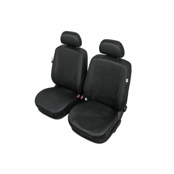 Autopotahy PRACTICAL na přední sedadla, černé (black) SIXTOL