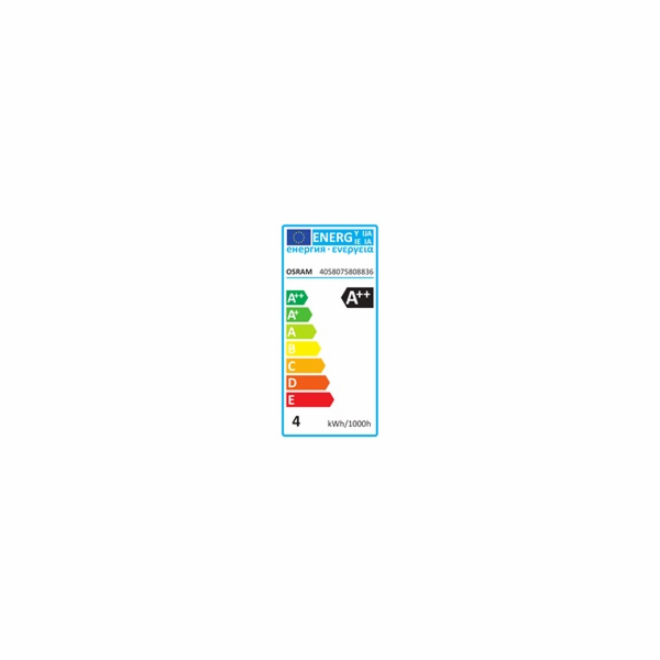 OSRAM LED STAR CL B GL Fros. 4W 840 E14 470lm 4000K (CRI 80) 15000h A++ (Blistr 2ks)