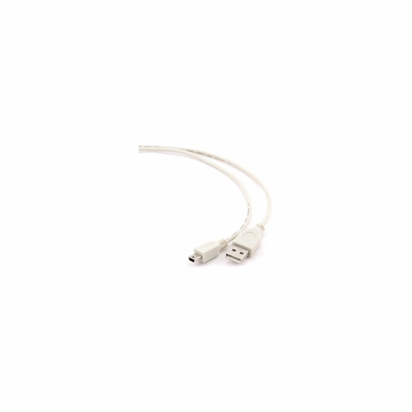GEMBIRD Kabel USB 2.0 A-Mini B (5pin) propojovací 1,8m