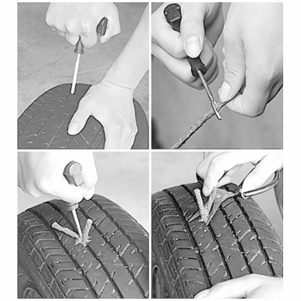 Sada na opravu defektu pneumatiky COMPASS