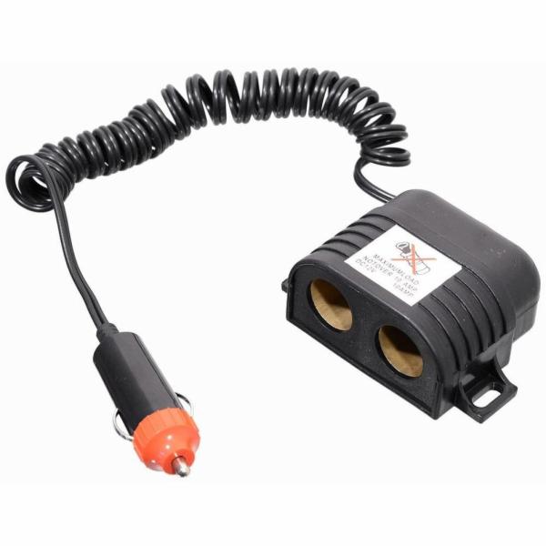 Rozdvojka 12/24V s kabelem, COMPASS