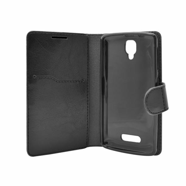 Pouzdro pro Lenovo A1000 Flip Case Black
