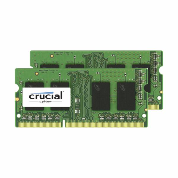 Crucial 8GB (2x4GB) DDR3 1333 MT PC3-10600 SODIMM 204pin pro Mac