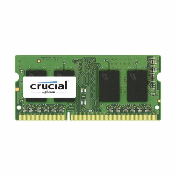 Crucial 4GB DDR3 1333 MT/s CL9 PC3-10600 SODIMM 204pin pro Mac