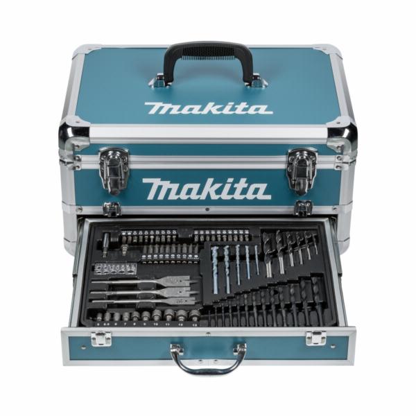 Makita HP457DWEX4 + set prísl. aku vrtacka v kufru