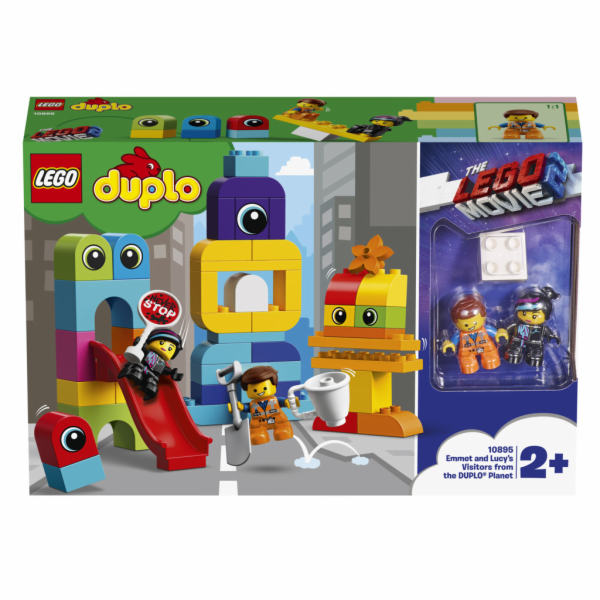 LEGO DUPLO 10895 Emmet and Lucy Visitors from the DUPLO Planet