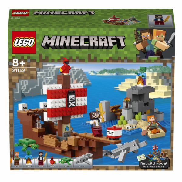 Lego Minecraft Dobrodružství pirátské lodi