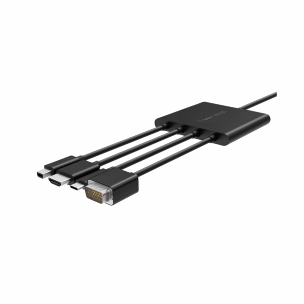 Belkin Digitaler Multiport adapt Mini-DPP,HDMI,USB-C,VGA na HDMI