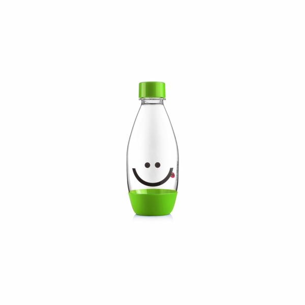 Lahev dětská 0.5l Smajlík zelená SODA