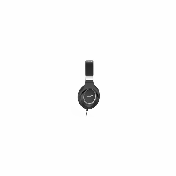 GENIUS sluchátka s mikrofonem HS-610, černá