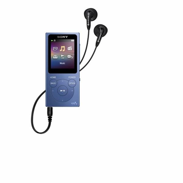 Sony NW-E394L 8GB modra