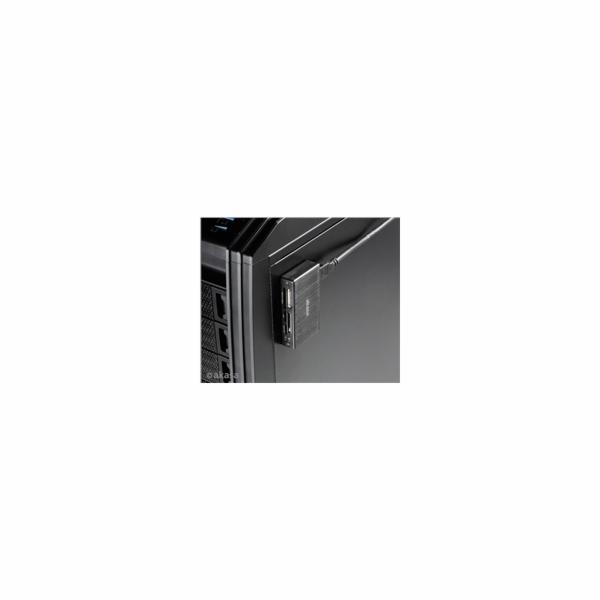AKASA čtečka karet AK-CR-06BK externí, 6-slotová, USB 3.0, černý hliník