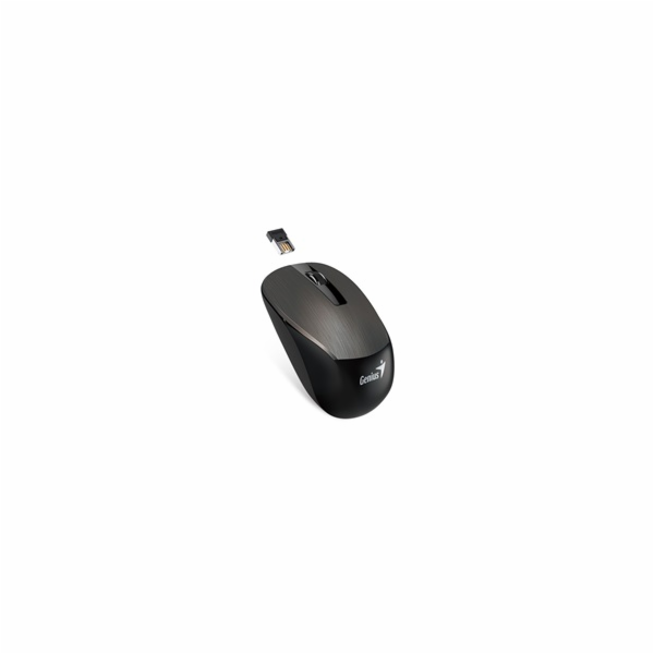 GENIUS myš NX-7015/ 1600 dpi/ Blue-Eye senzor/ bezdrátová/ čokoládová