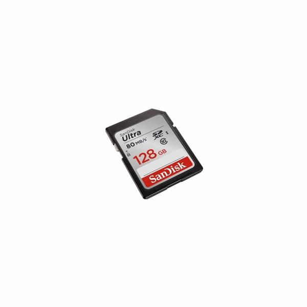 SanDisk SDXC karta 128GB Ultra (80 MB/s Class 10 UHS-I)