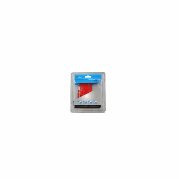 iTec PCI-E 2x M.2 Card (PCI-E/SATA)