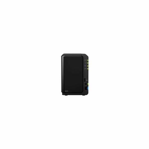 Synology DS218 DiskStation (4C/RealtekRTD1296/1,4GHz/2GBRAM/2xSATA/1xUSB2.0/2xUSB3.0/1xGbE)