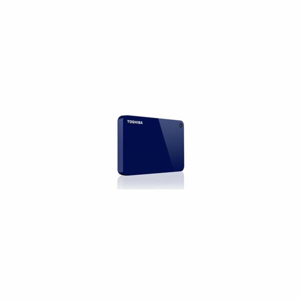 """TOSHIBA HDD CANVIO ADVANCE 2TB, 2,5"""", USB 3.0, modrá / blue"""