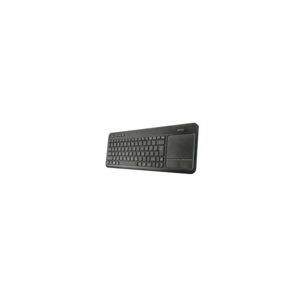TRUST klávesnice Veza Wireless Touchpad Keyboard HU
