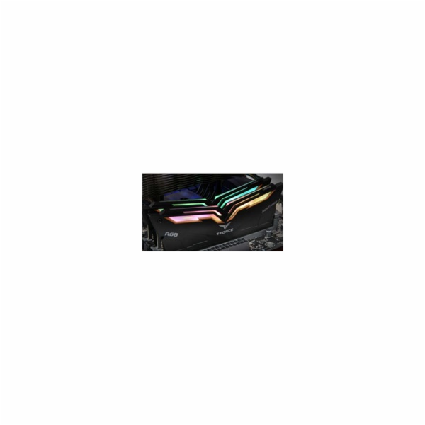 DIMM DDR4 16GB 3200MHz, CL16, (KIT 2x8GB), T-FORCE Night Hawk RGB (Black)