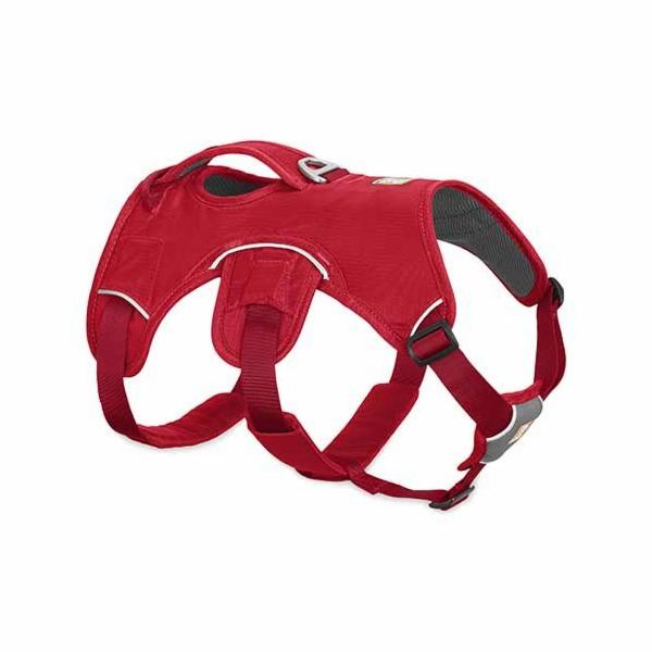 Ruffwear postroj pro psy, Web Master, červený, velikost M